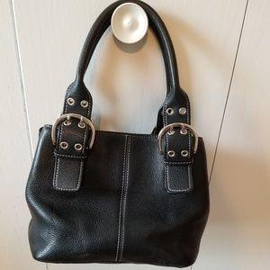 Tignanello small black purse